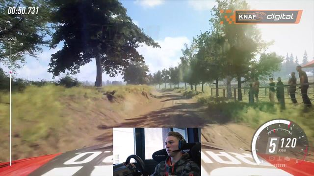 Shakedown in Polen - DiRT Rally 2.0