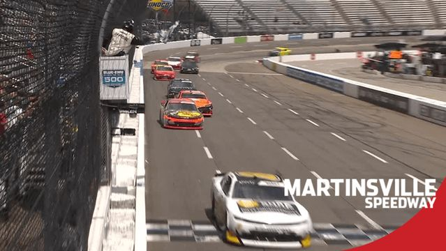 Short-track ace Josh Berry wins Xfinity Series race at Martinsville