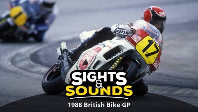 Sights & Sounds: GP di Gran Bretagna del 1988
