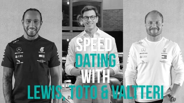 Speed Dating with Toto, Lewis, and Valtteri – Part 2!