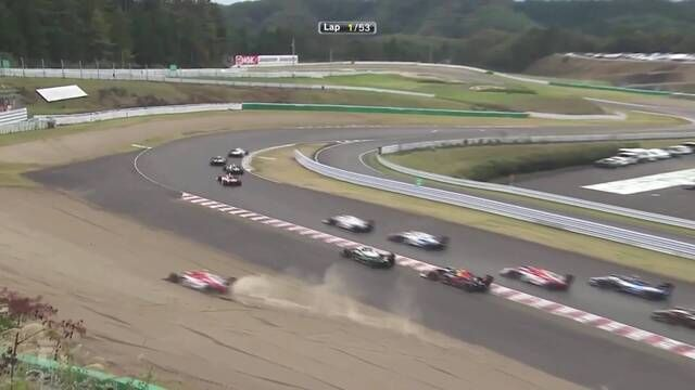 Super Formula: Sugo - Race Start
