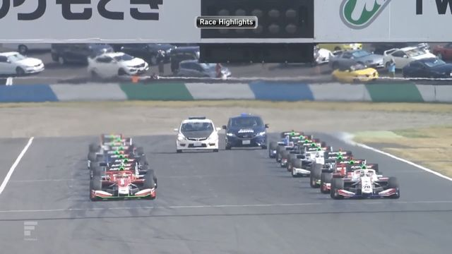 Super Formula: Twin Ring Motegi - Race Highlights