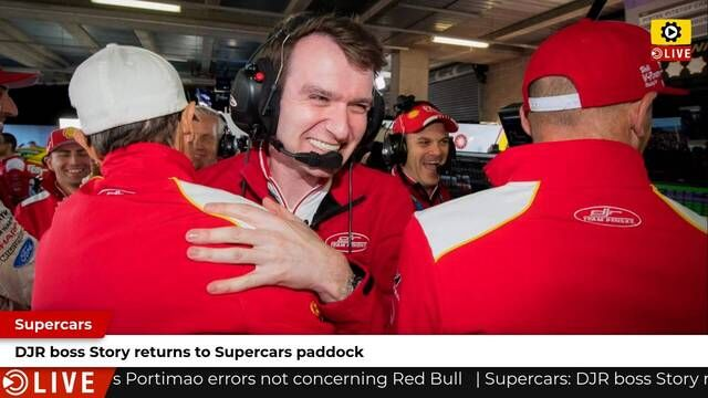 Supercars: DJR boss Story returns to Supercars paddock
