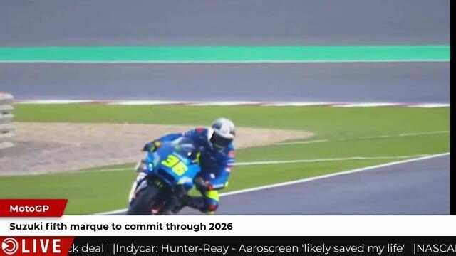 Suzuki commits to 2026