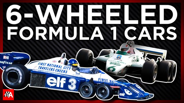 The 3 Banned 6-Wheeled F1 Cars