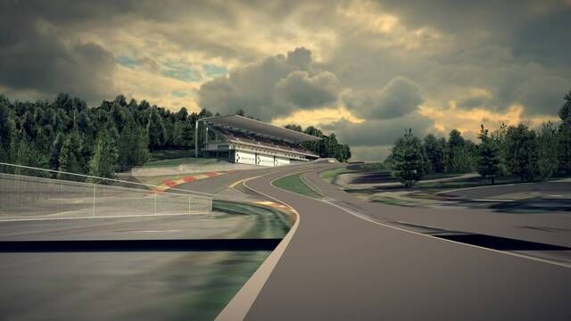 The 80 million euro Spa-Francorchamps revamp