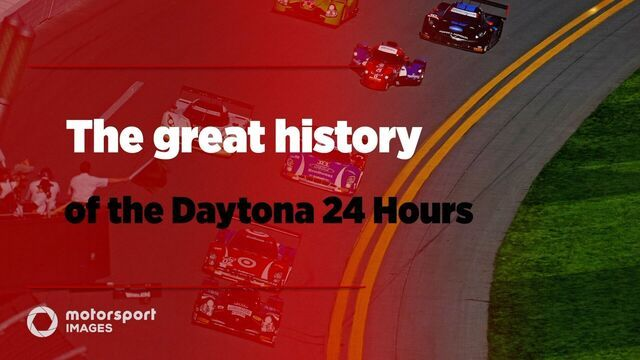 The great history of the Daytona 24 Hours