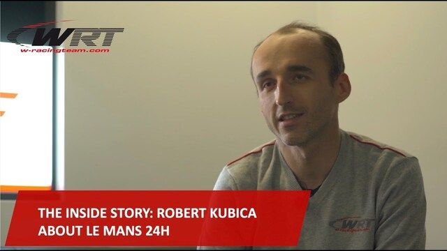 Robert Kubica o udziale w 24h Le Mans