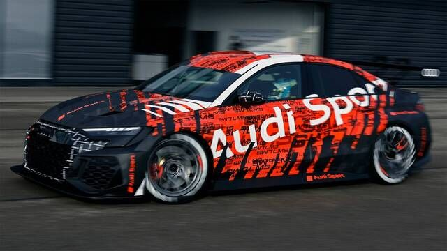 The new Audi RS 3 LMS