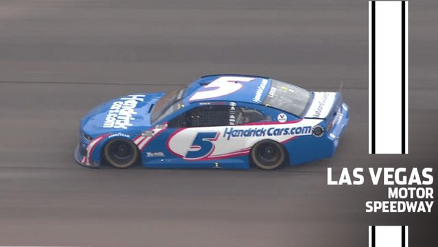 The No. 5 is back in Victory Lane: Kyle Larson wins at Las Vegas