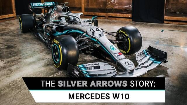 Kisah Silver Arrows: Mercedes W10