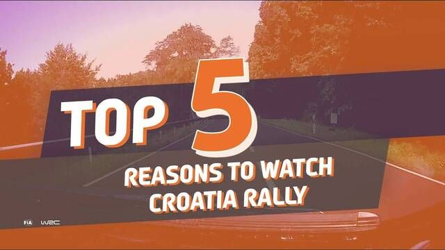 TOP 5 reasons to watch Croatia Rally 2021!