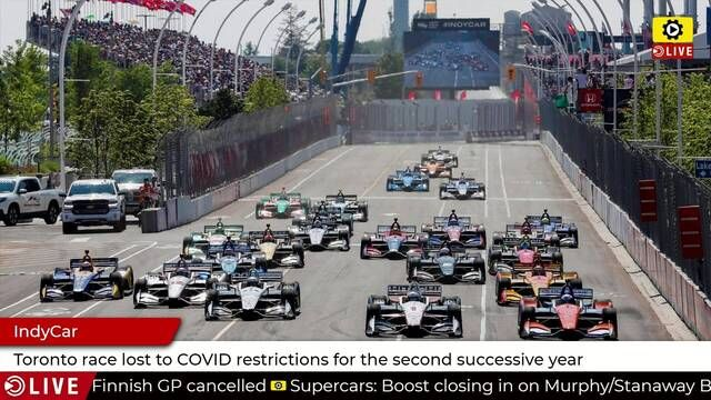 Toronto is dropped from IndyCar calendar again