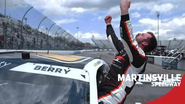 'Unbelievable': Josh Berry wins one for the short-track racers