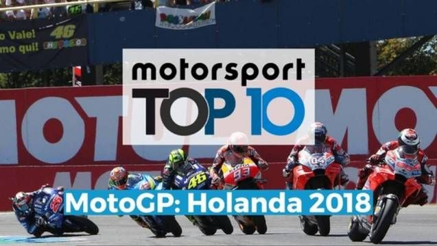 VÍDEO: Top 10 GP da Holanda de MotoGP