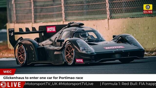 WEC: Glickenhaus to run one car at Portimao