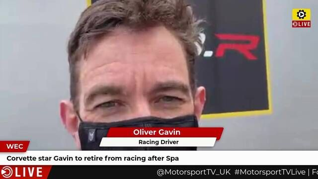 WEC: Oliver Gavin on emotional retirement
