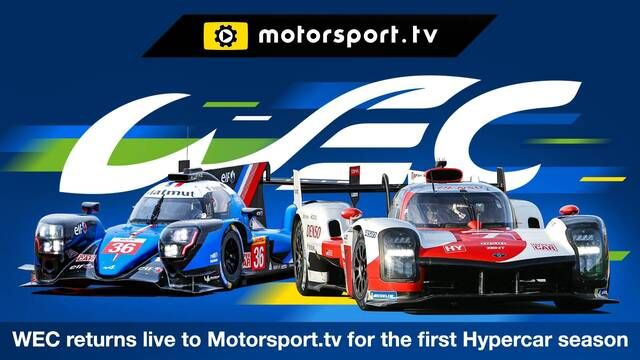 WEC returns to Motorsport.tv for 2021
