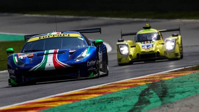 WEC: Spa - Qualifying start