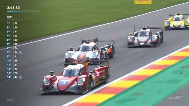 WEC: Spa race - LMP2 battle