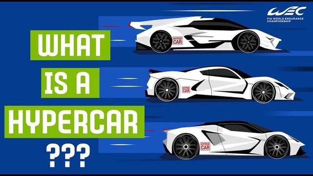 WEC: What is a Hypercar?