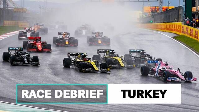 Wet weather, Spins & Wins | 2020 Turkish GP F1 Race Debrief