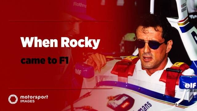 When Rocky came to F1 – but made a movie about Champ Cars