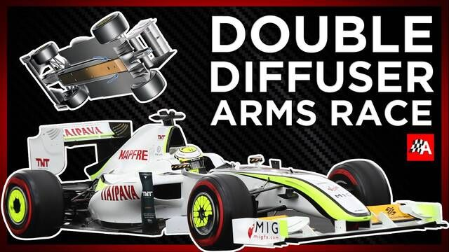 Why The Double Diffuser Was (Down)Forced Out Of F1