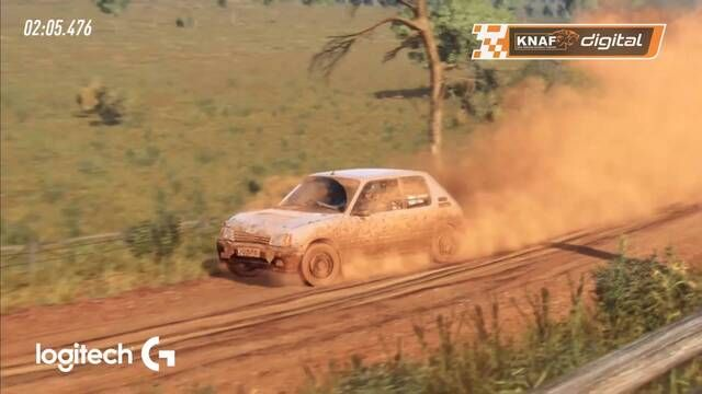 Winnaar crasht in het stof | Highlights KNAF-certified DiRT Rally 2.0 Spring Cup 2021 - Event 1