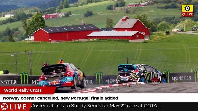 World RX: Norway cancelled, Portugal added