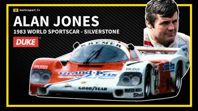 World Sportscar: Silverstone 1983: Alan Jones in the Porsche 956