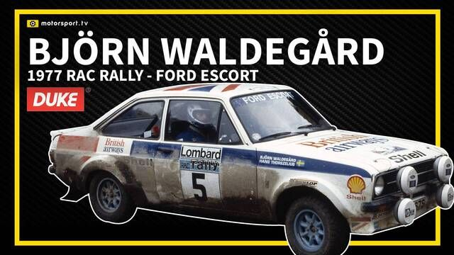 WRC: Björn Waldegård wins the 1977 RAC Rally in a Ford Escort