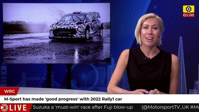WRC: M-Sport makes progress with 2022 car