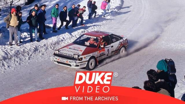 WRC: Monte Carlo 1991 - Carlos Sainz sets the pace in SS1