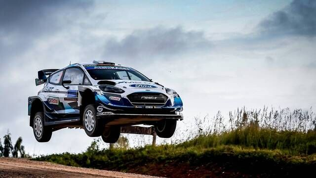 WRC: Rally Estonia SS7-10