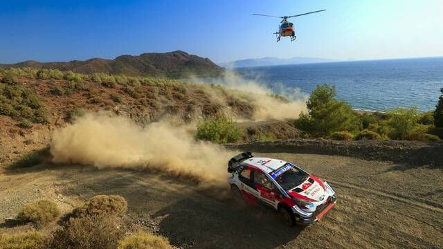 WRC: Rally Turkey SS9-10