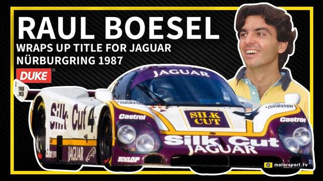 WSC: Raul Boesel win the 1987 Championship for Jaguar