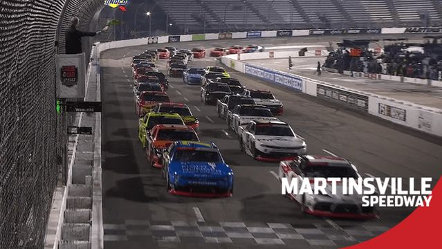 Xfinity Series goes green under the lights at Martinsville