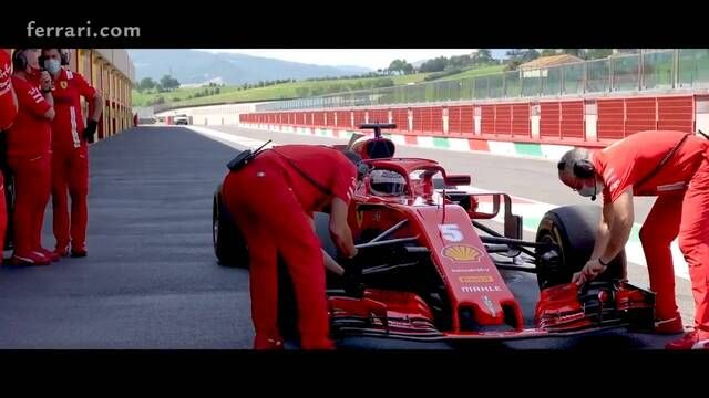 La journée de tests de Ferrari au Mugello