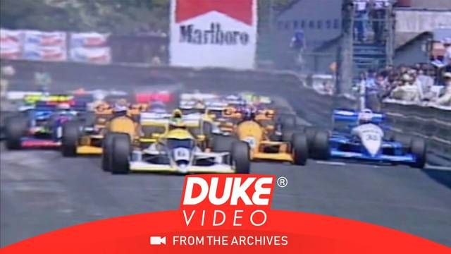 1989 F3000 Pau Grand Prix start karmaşası