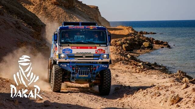 Dakar 2021: Etappe 9 Highlights - Trucks