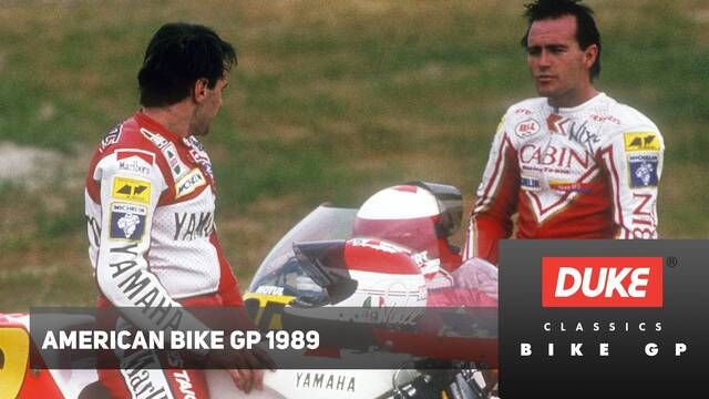 Duke Video: GP de Motociclismo de EEUU 1989