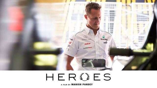 Heroes: Accident, Michael Schumacher