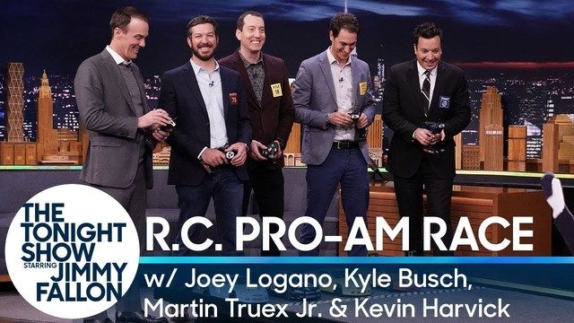 Tonight Show R.C. Pro-Am Race with the NASCAR Championship Four