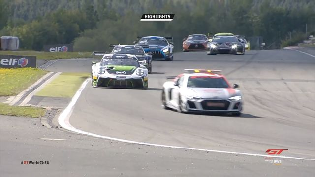 GT World Challenge Europe - Nürburgring Race Highlights