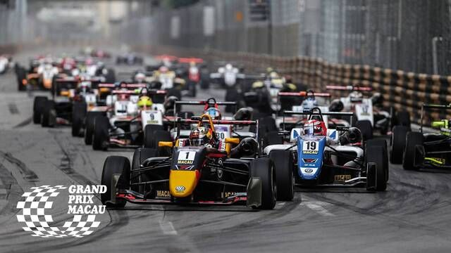 Macau GP: FIA F3 World Cup - Qualifying Race