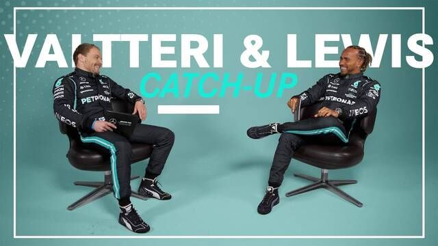 Valtteri and Lewis' BIG F1 2021 Catch-Up!