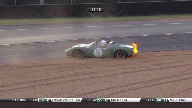Le Mans Classic Retrospective: GT40 doors and fires