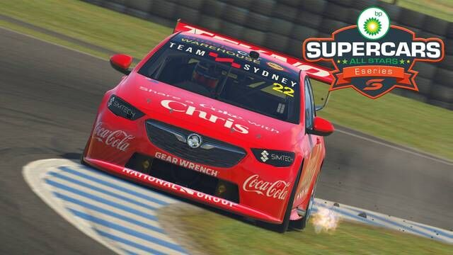 Supercars All Stars Eseries: Silverstone ve Barcelona