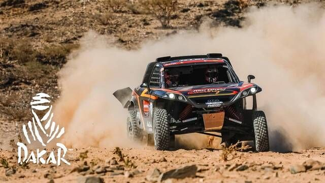 Dakar-Highlights 2021: Etappe 12 - SSV